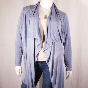 5/$20 ANA Heather Blue Sweater size Xlarge